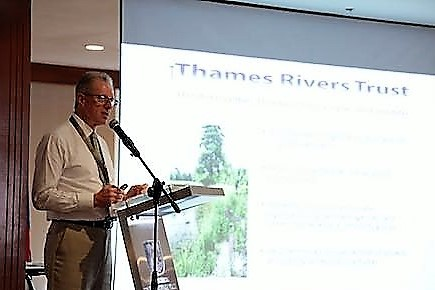 Robert Oates, our Deputy Chaiman representing the River Thames at the Cauca River Restoration Forum in Cali, Colombia.