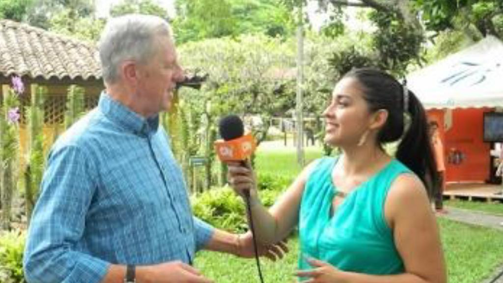 TRT Deputy Chairman Rob Oates being interviewed